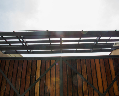 Sunshield UV Polycarbonate Sheets- Busay Residence Project