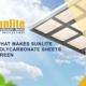 Sunlite reduces energy consumption