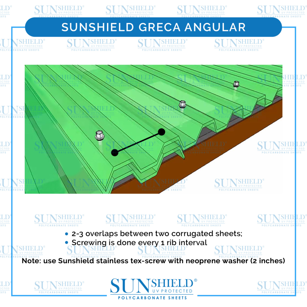 sunshield greca angular installation guide