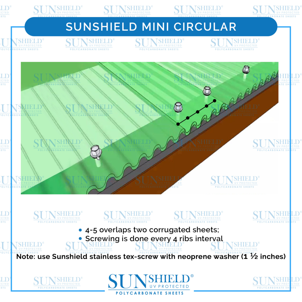 Sunshield mini circular Installation Guide