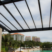 Sunshield UV Protected Polycarbonate Sheets - Shangri-La's Mactan Resort and Spa Project - UV Roofing Polycarbonate